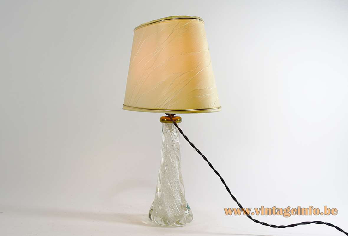 Twisted Murano Table Lamp