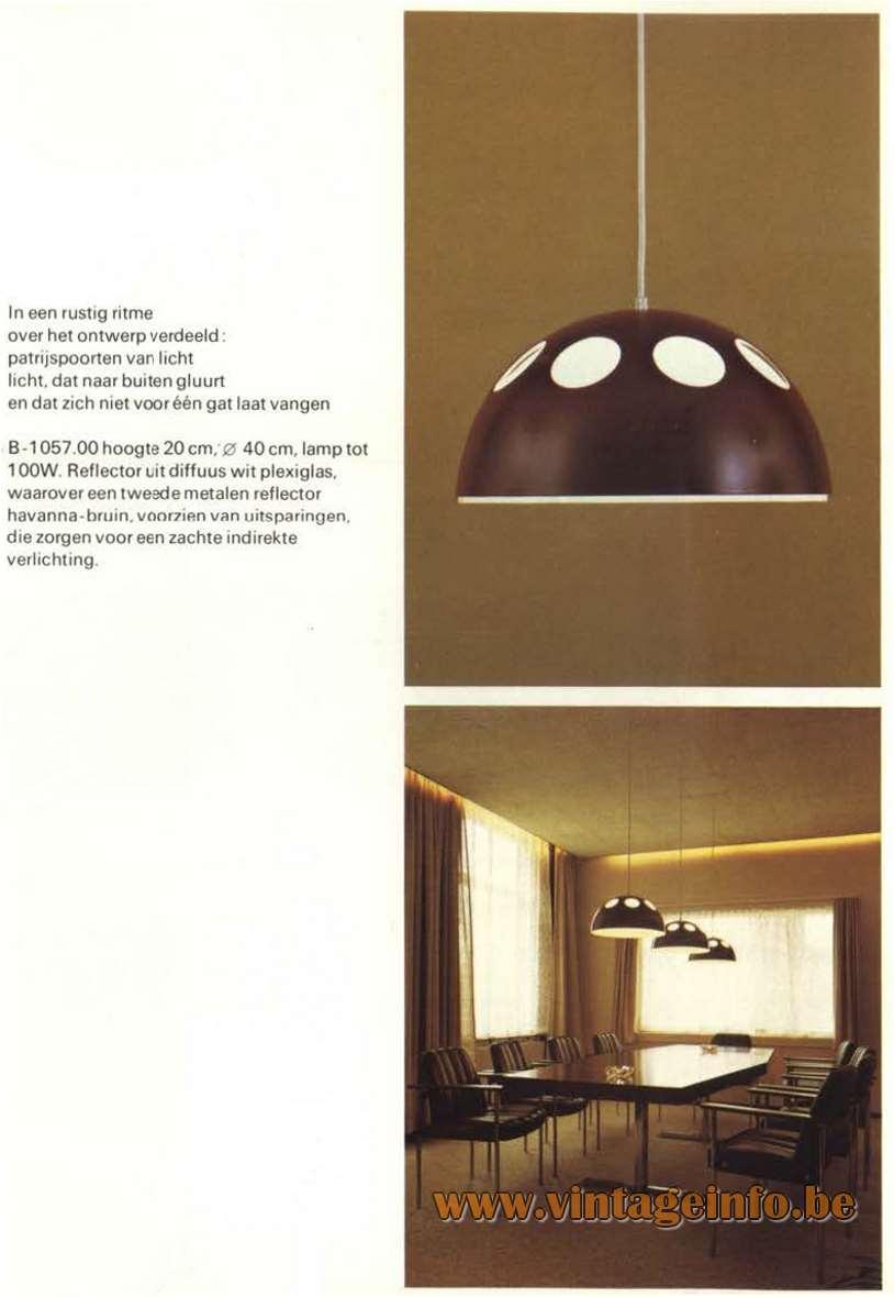 Raak Catalogue 9 - 1972 - B-1057