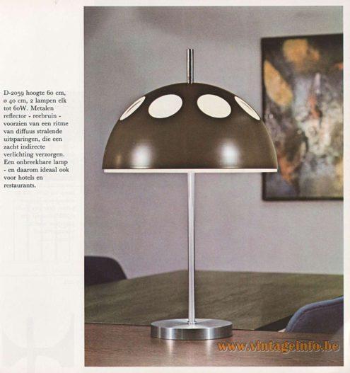 Raak Table Lamp D-2059