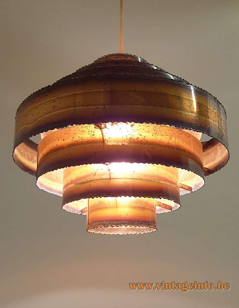 Svend Aage Holm Sørensen Copper Pendant Lamp