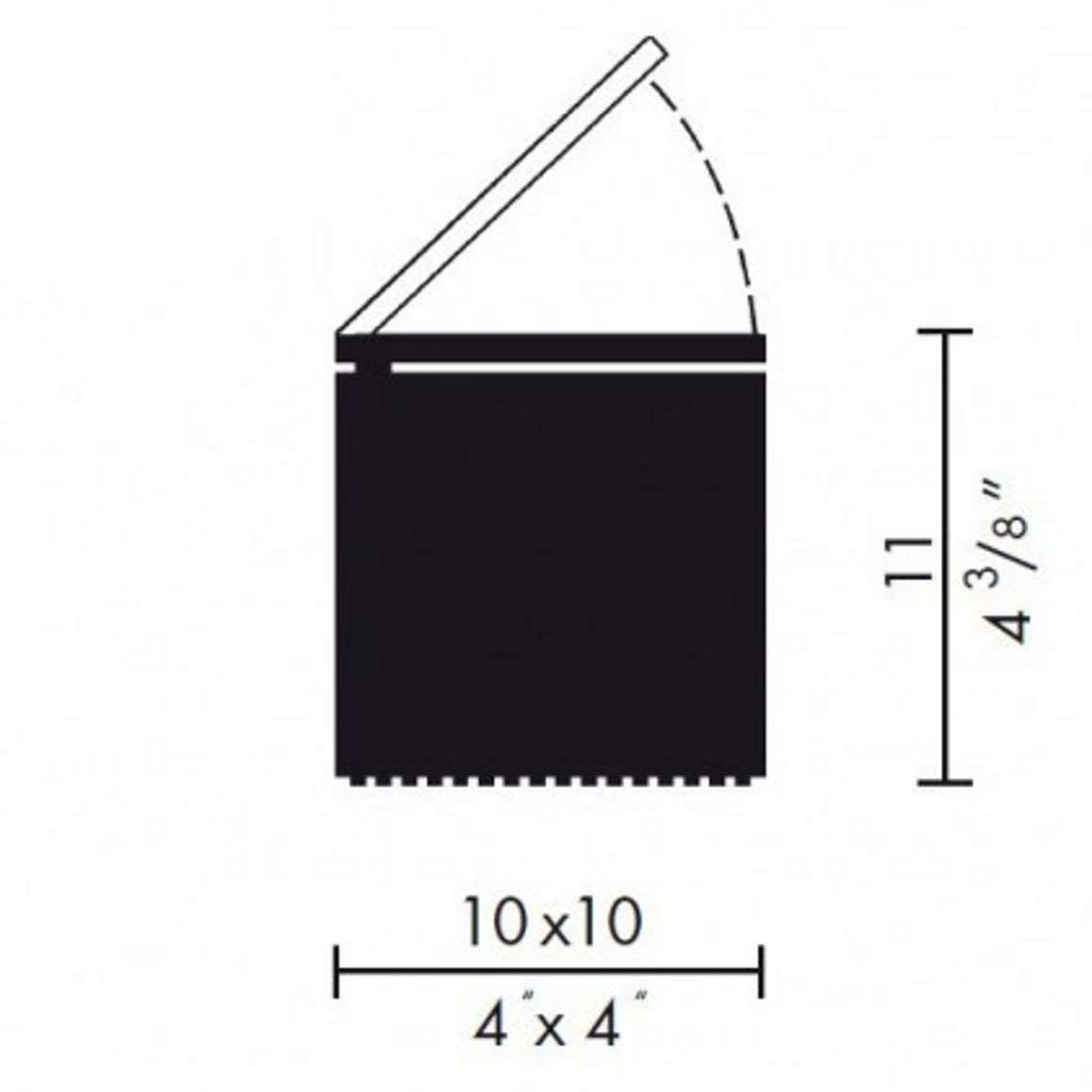 Cuboluce Table Lamp - scheme