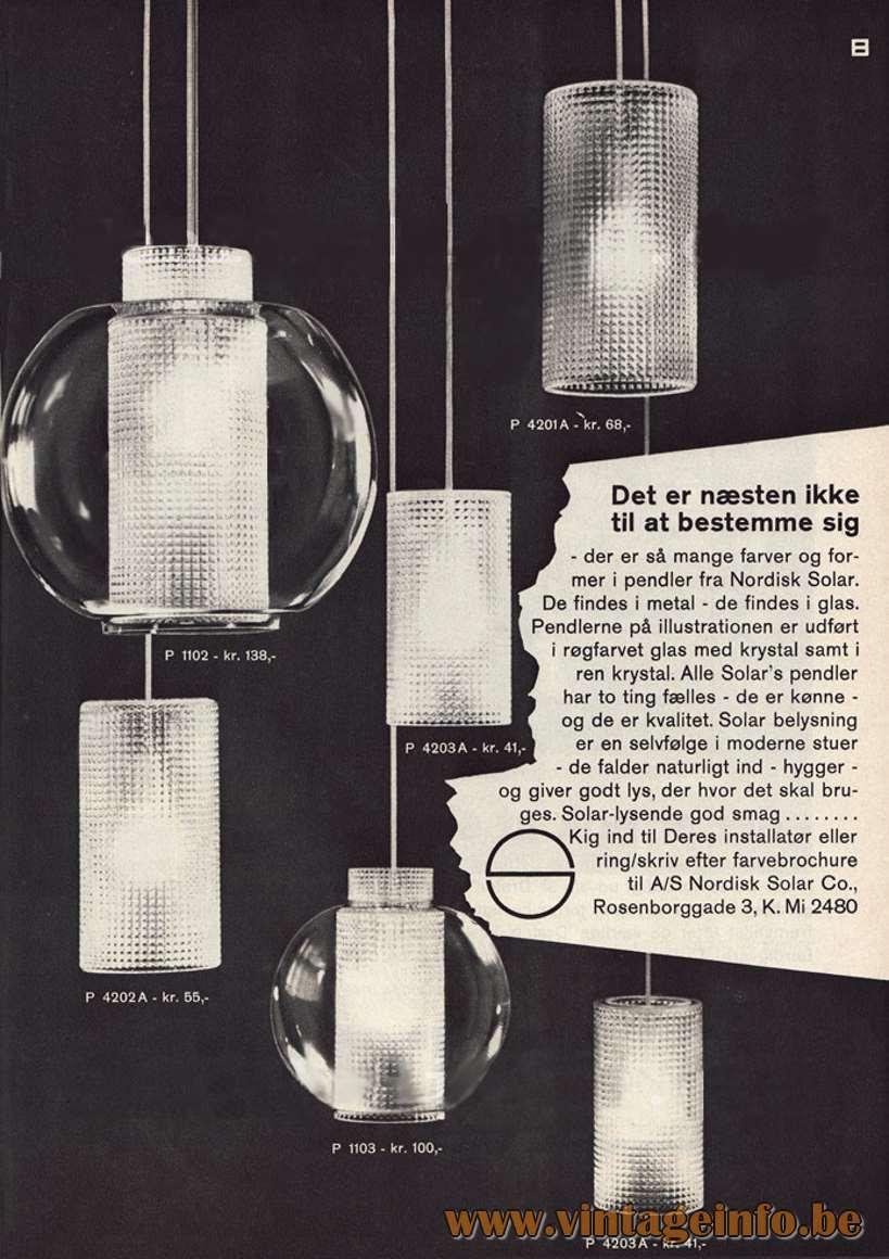 Nordisk Solar Pendant Light - catalogue