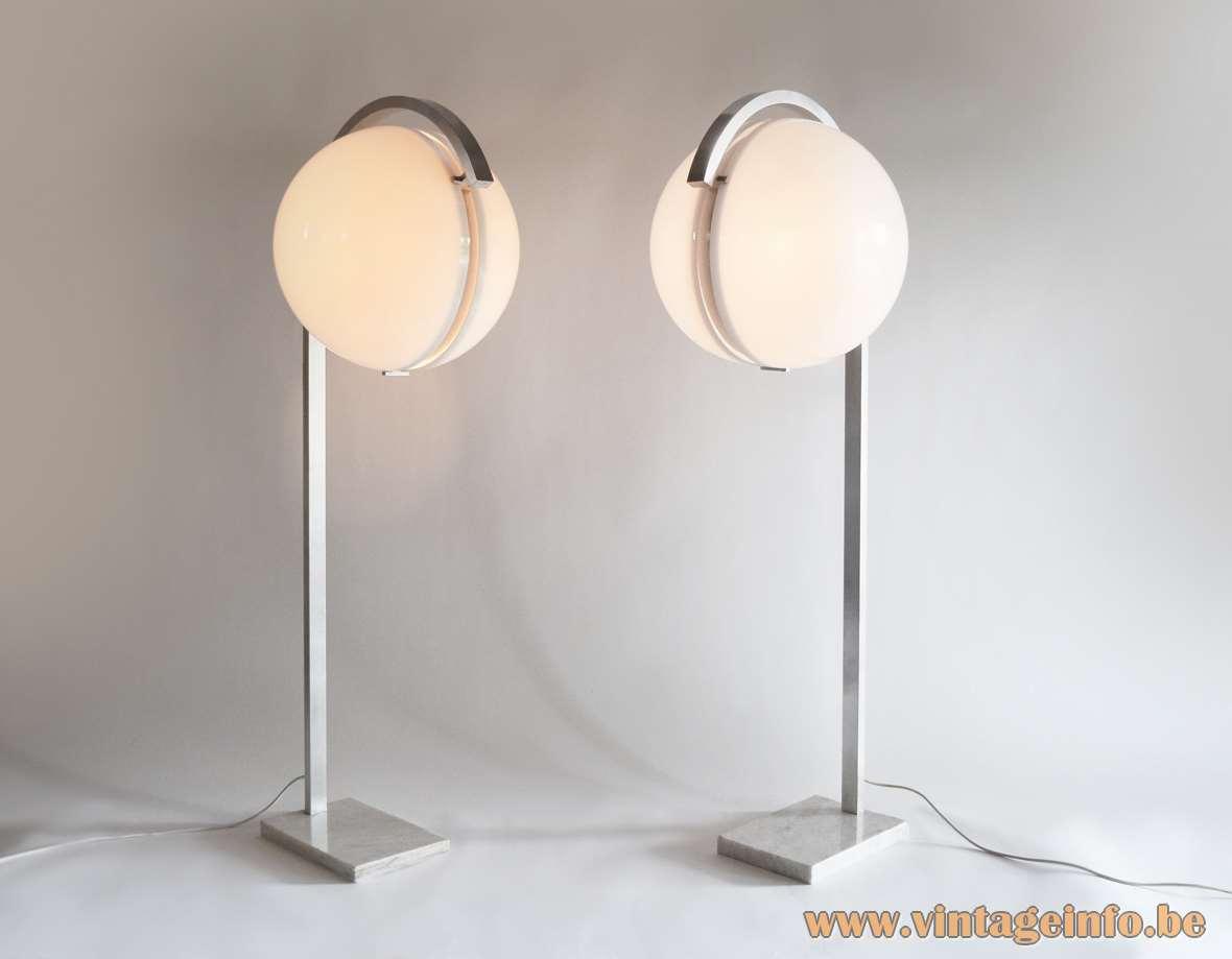Acrylic Globe Floor Lamps