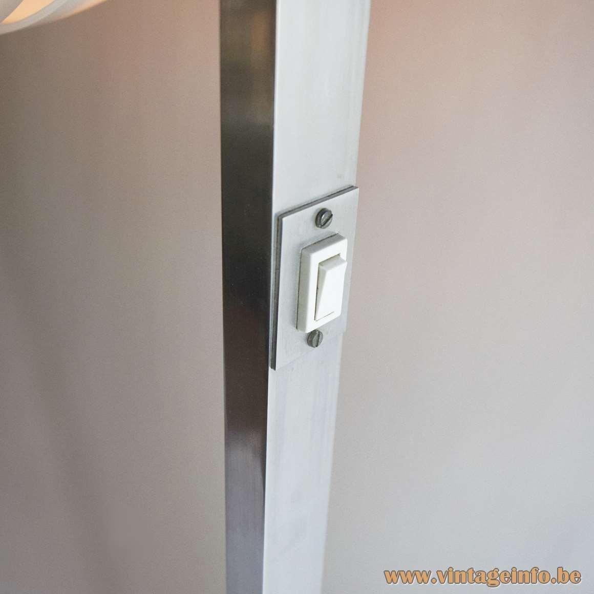 Acrylic Globe Floor Lamp - Acciarri switch