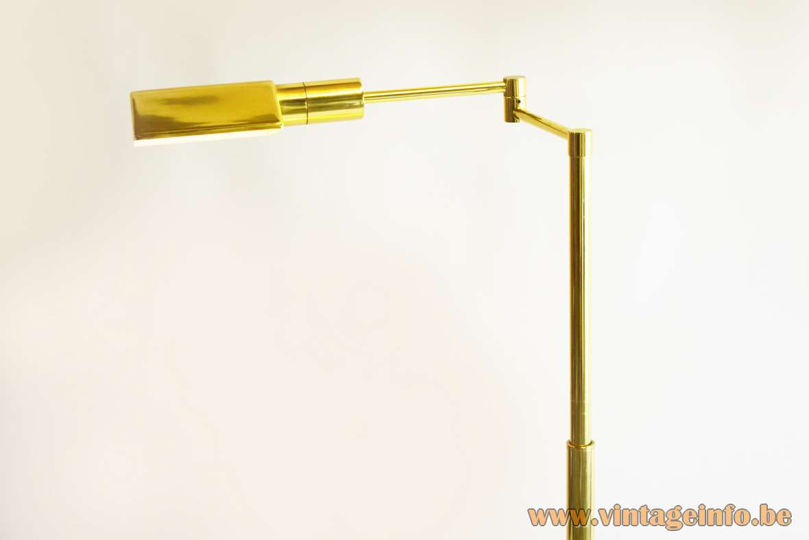 Boulanger Brass Floor Lamp