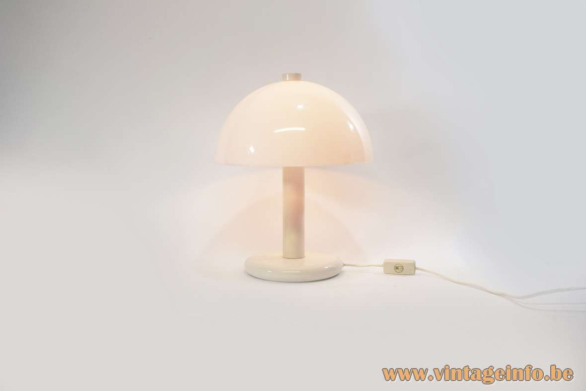 Mushroom Table Lamp Vintage Info All About Vintage Lighting