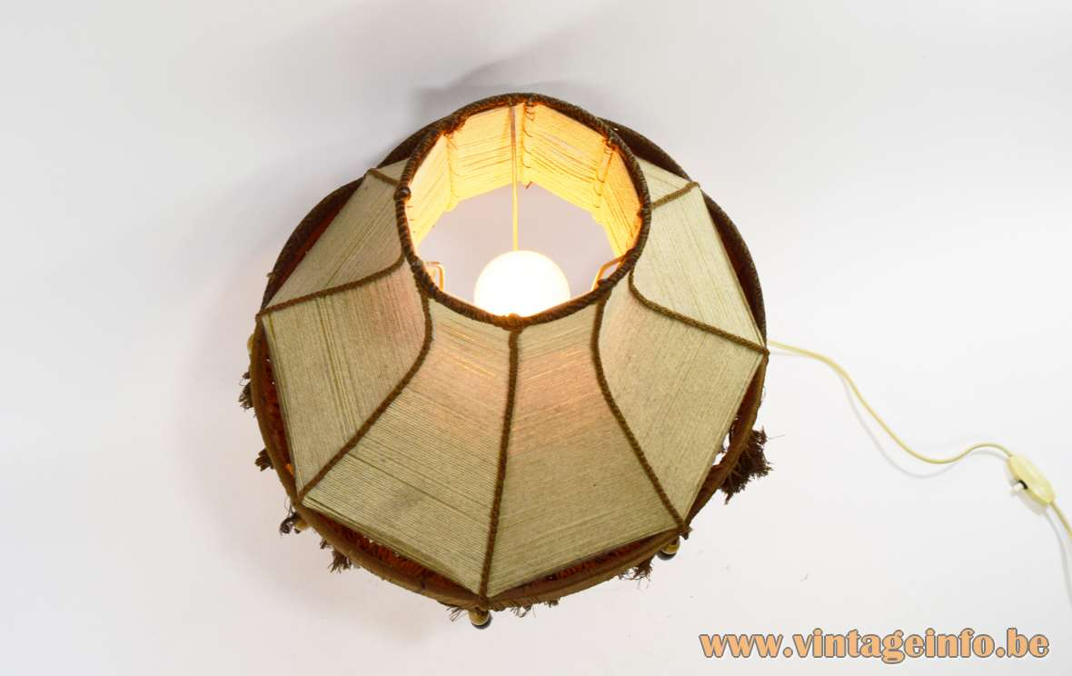 Rosewood Table Lamp