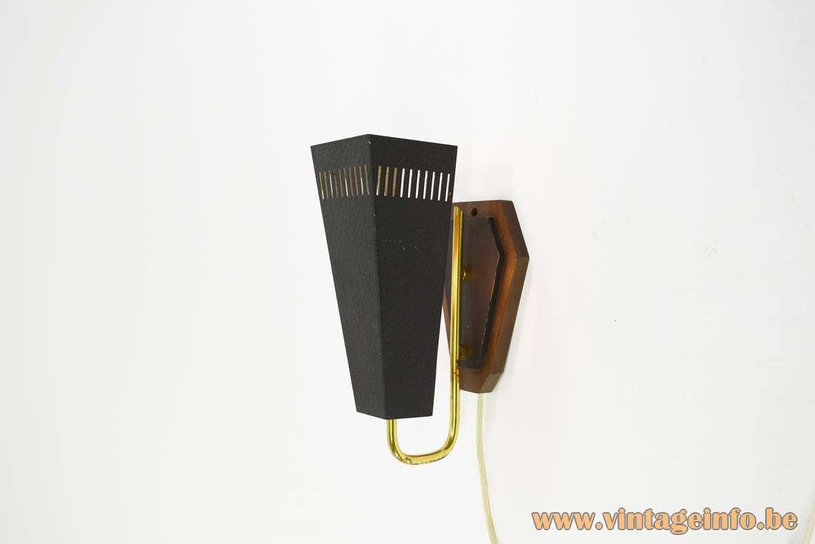 1950s Trapezium Wall Lamp