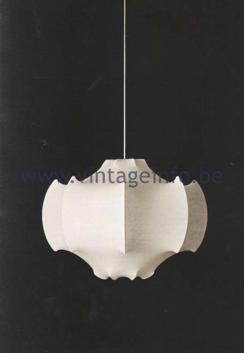 Flos Catalogue 1980 – Viscontea lamp, design Achille & Pier Giacomo Castiglioni