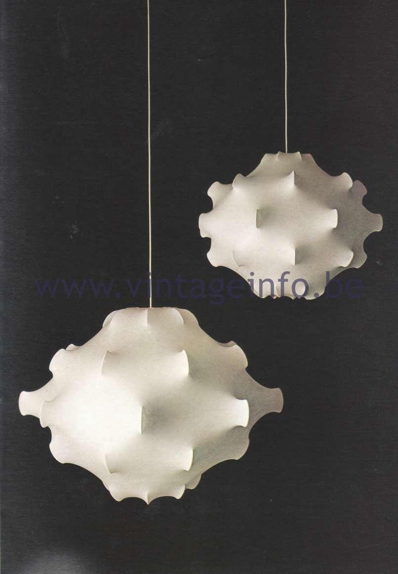 Flos Catalogue 1980 – Taraxacum & Taraxacum piccolo, design Achille & Pier Giacomo Castiglioni