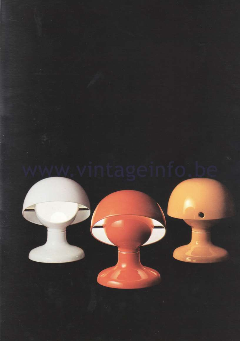 Flos Catalogue 1980 – Jucker, design Tobia Scarpa