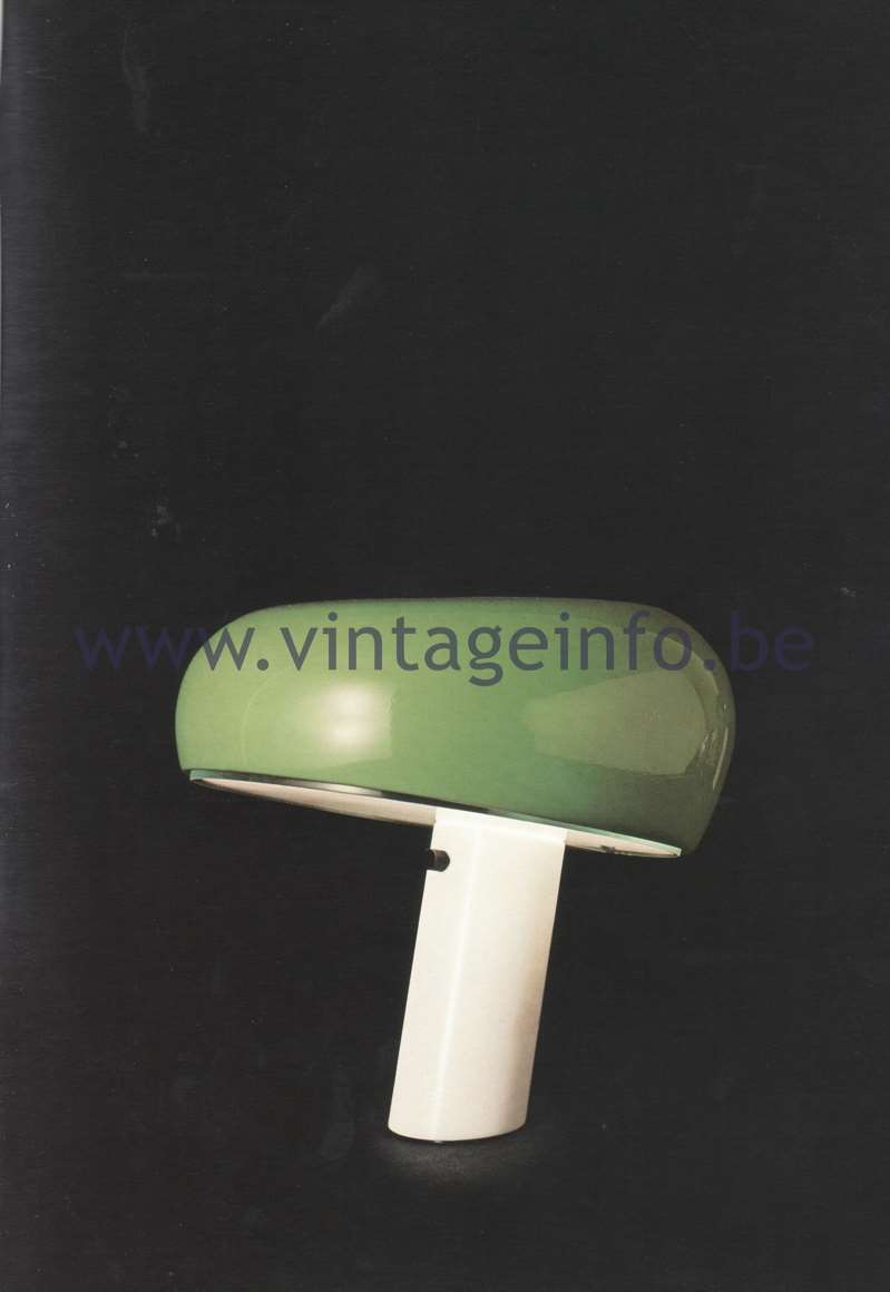 Flos Catalogue 1980 – Snoopy, design Achille & Pier Giacomo Castiglioni