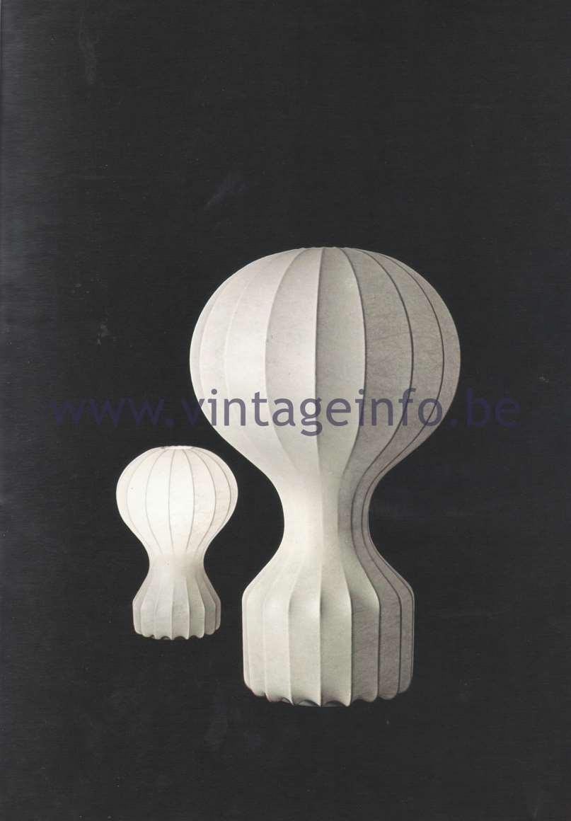 Flos Catalogue 1980 – Gatto & Gatto piccolo, design Achille & Pier Giacomo Castiglioni