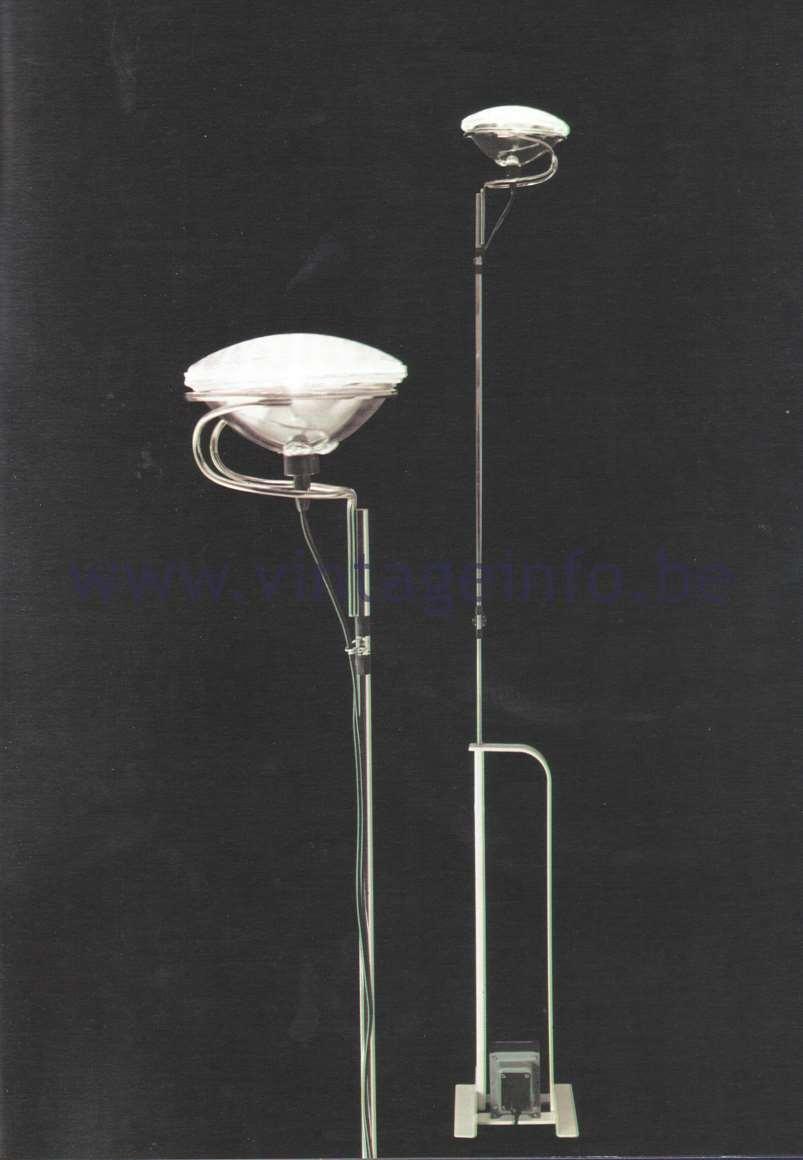 Flos Catalogue 1980 – Tolo, design Achille & Pier Giacomo Castiglioni