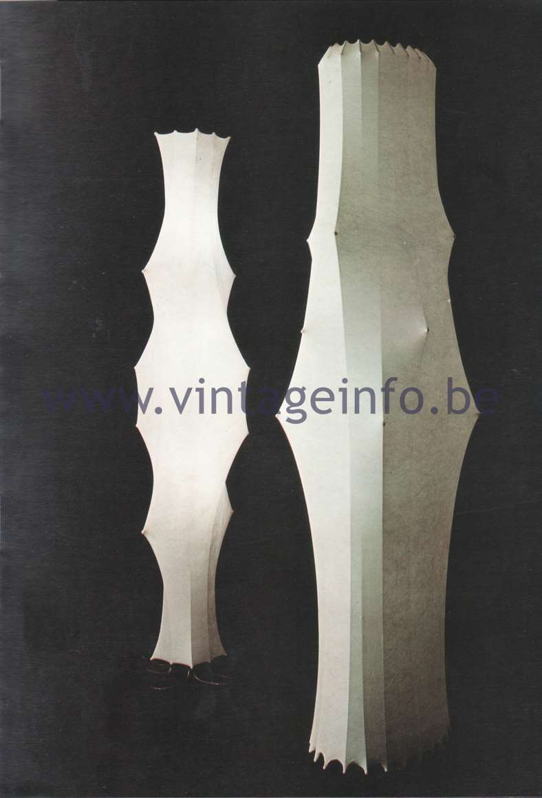 Flos Catalogue 1980 – Fantasma & Fantasma piccolo, design Tobia Scarpa