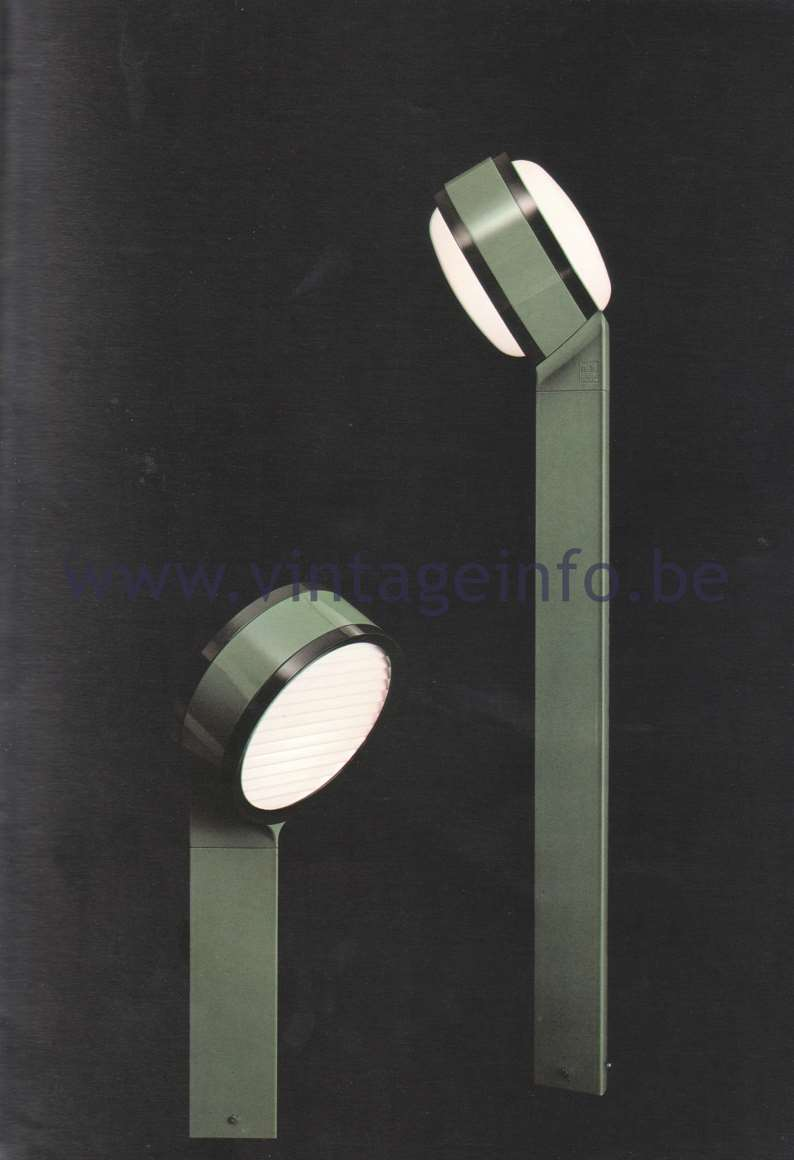 Flos Catalogue 1980 – Tamburo, design Tobia Scarpa