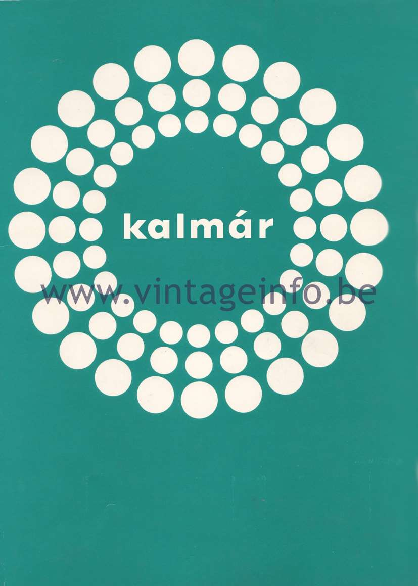 Kalmar Franken KG Catalogue 1974 – Cover
