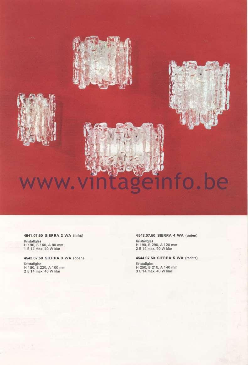 J.T. Kalmar KG, Franken KG – Catalogue 1974