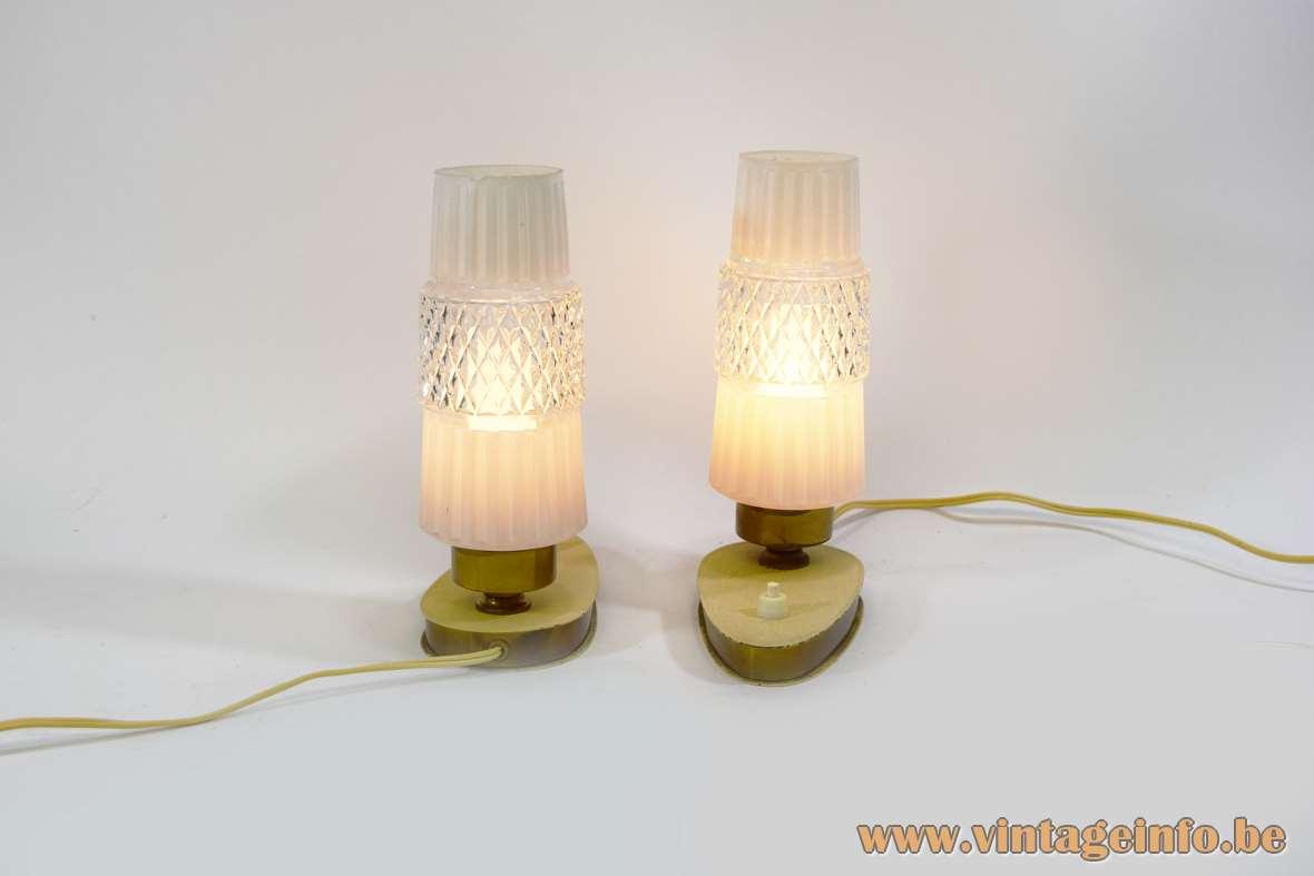 1950s Bedside Lamps