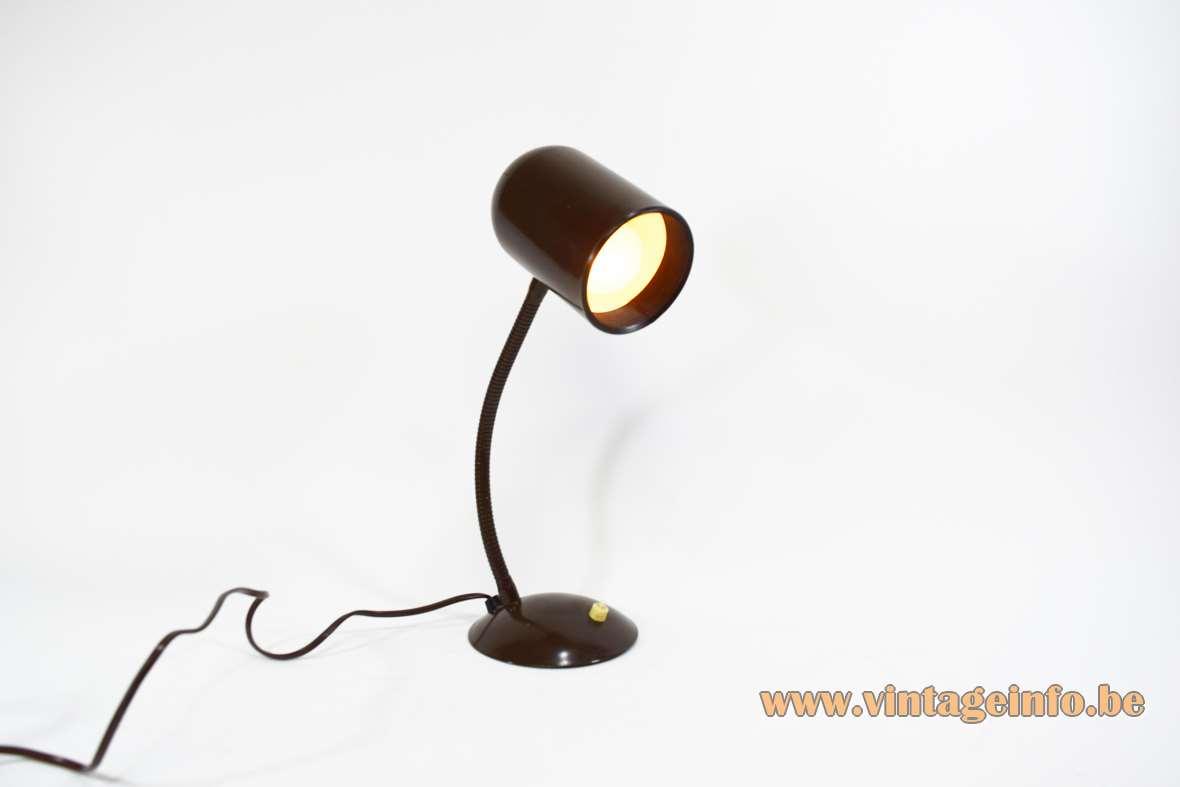 1970s Gooseneck Desk Lamp