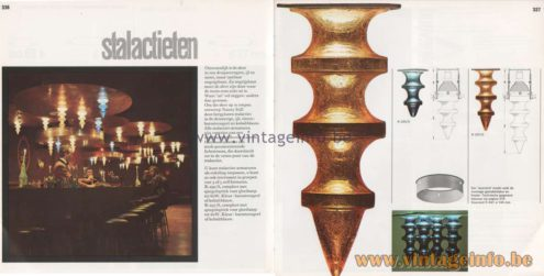 Raak 8 Catalogue 1968 page 336-337