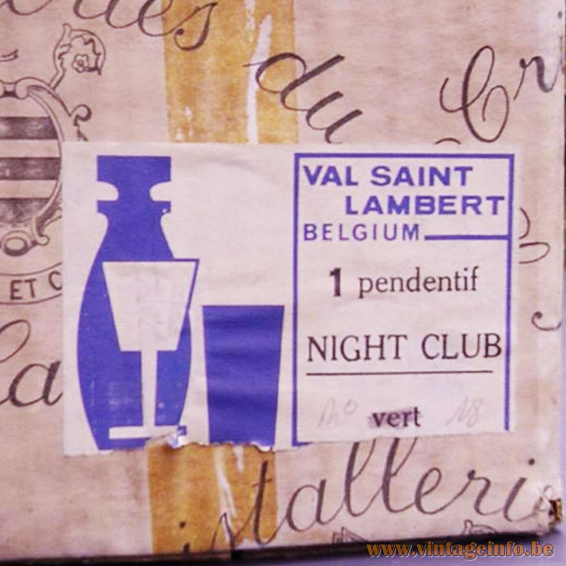 Val Saint Lambert Night Club - Box