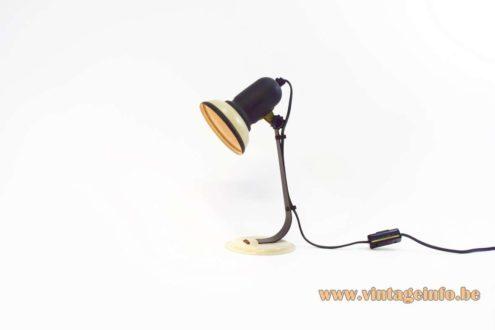 1970s Desk Lamp - beige version