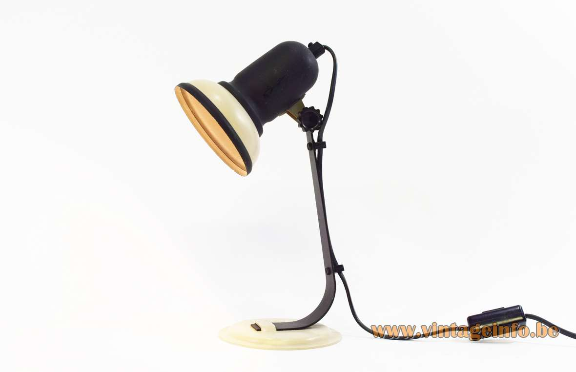 Beige 1970s Desk Lamp