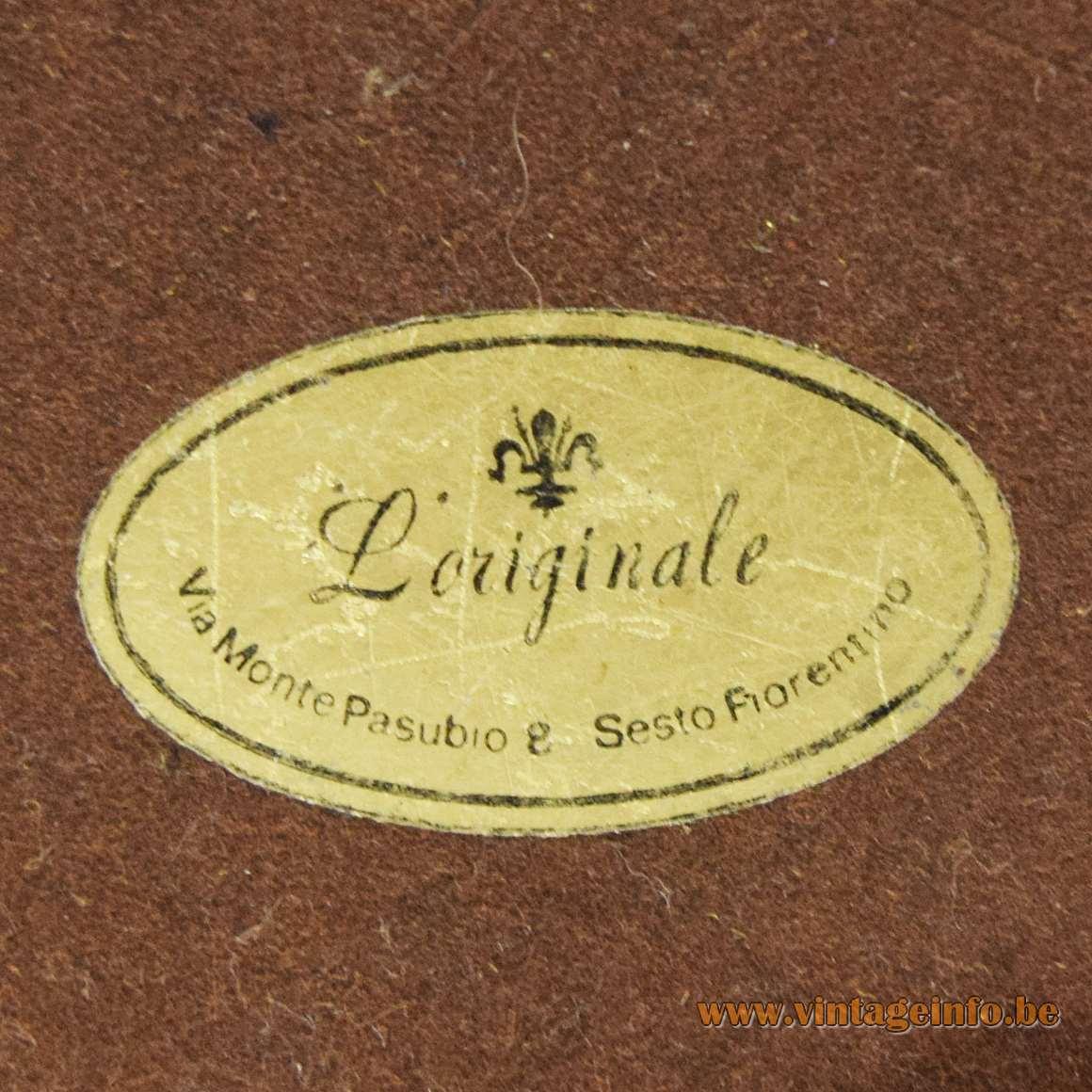 Cattails & Heron Table Lamp - L'Originale Label