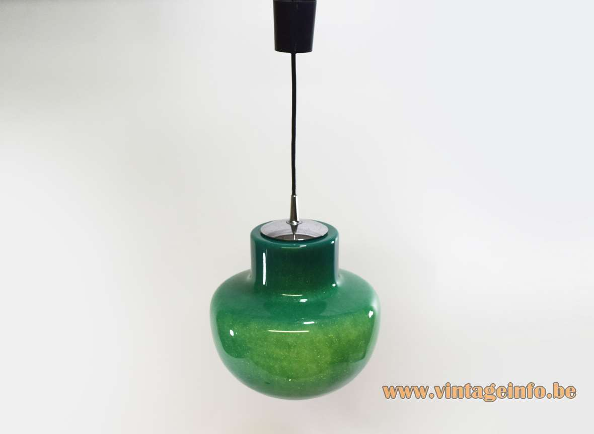 Green glass pendant lamp vintage info all about vintage lighting contact aloadofball Choice Image