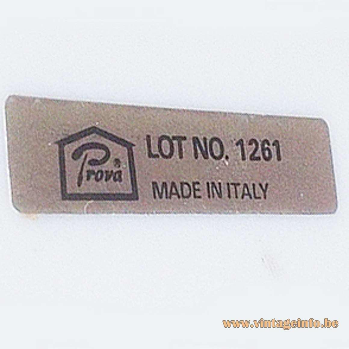 Vanilla Eyeball Desk Lamp - Prova Italy Label