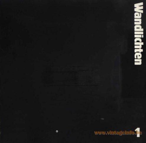 Raak Catalogus 9 Wandlichten