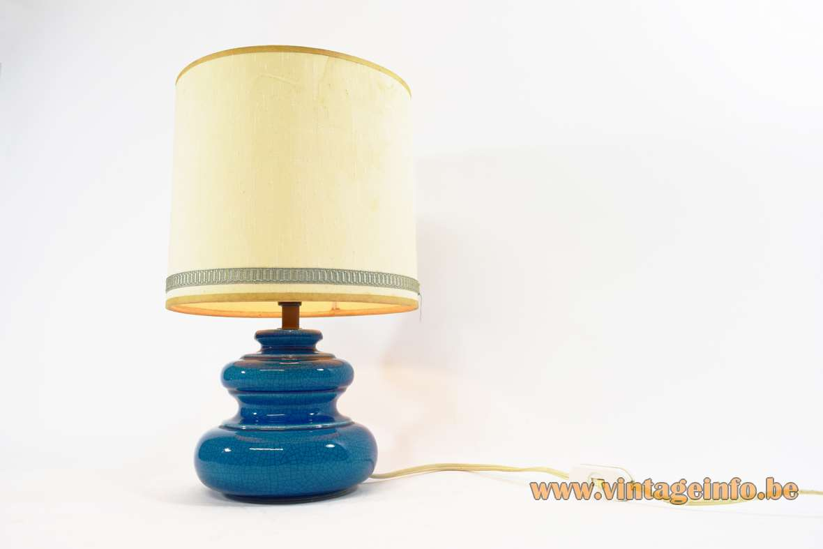 Rimini Blue Table Lamp