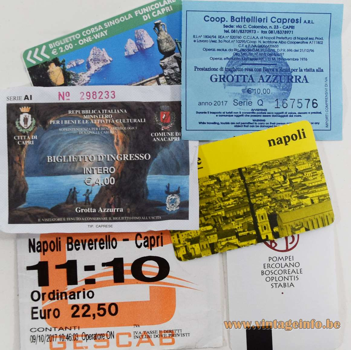Tickets Naples & Capri