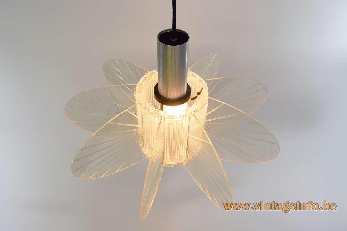 1960s Slats Pendant Lamp