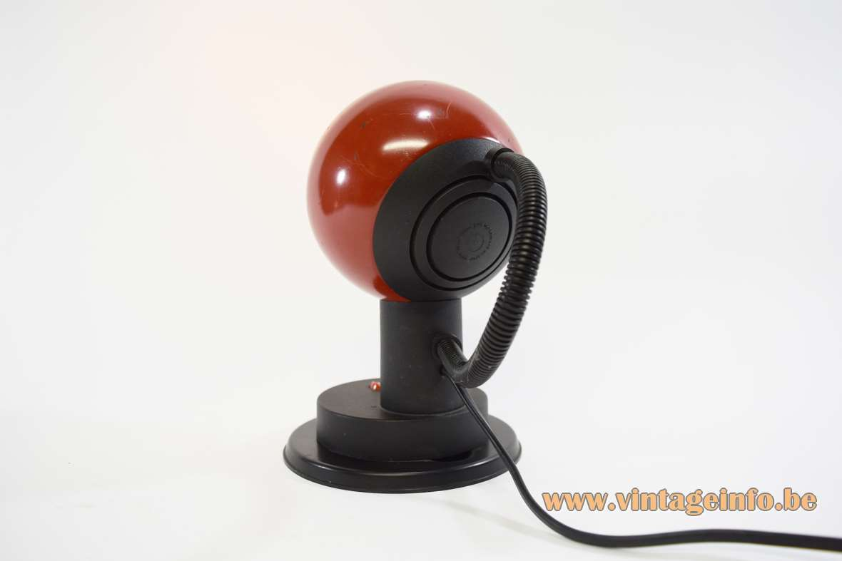 1970s Magnetic Table Lamp