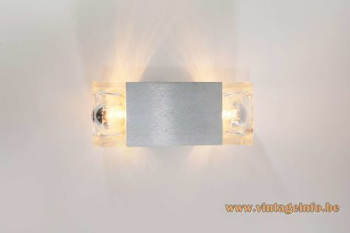 Sciolari Cubic Double Wall Lamp