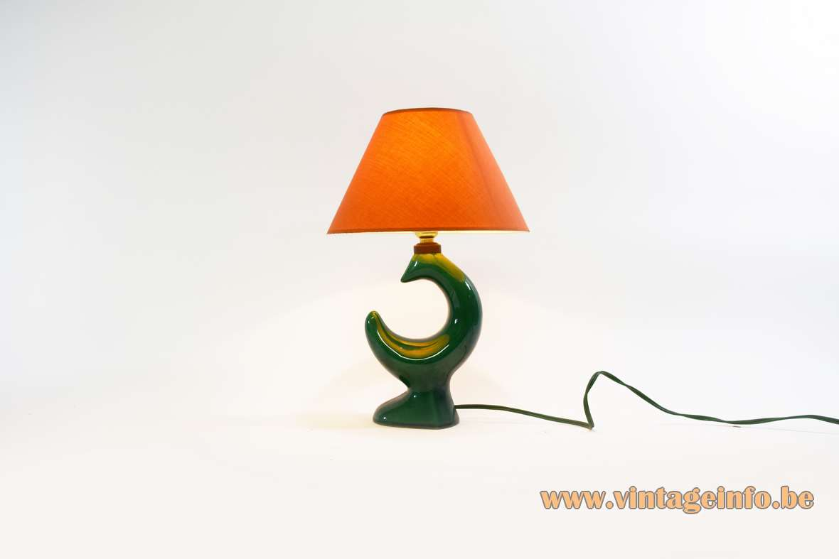 Georges Jouve Table Lamp