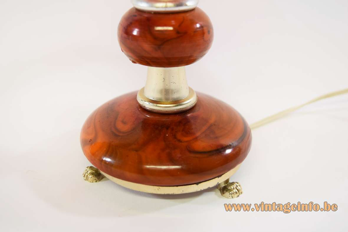 Italian Kitsch Table Lamp