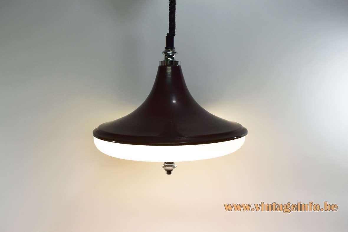 Circular Fluorescent Tube Pendant Lamp