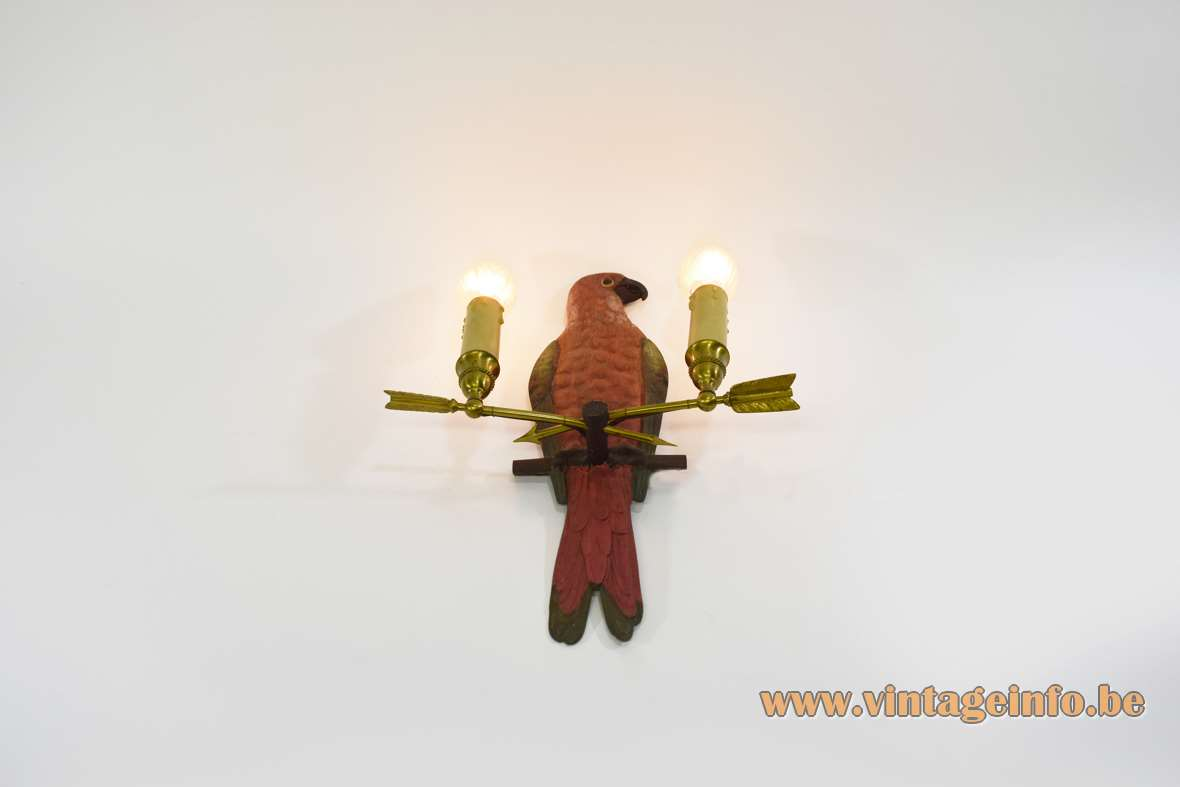 Parrot Wall Lamp
