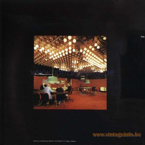 Raak Catalogue 11, 1978 – Raak Ceiling Lamps Les Alpilles