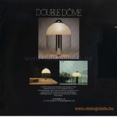 Raak Table Lamp Double Dôme D-2149.00