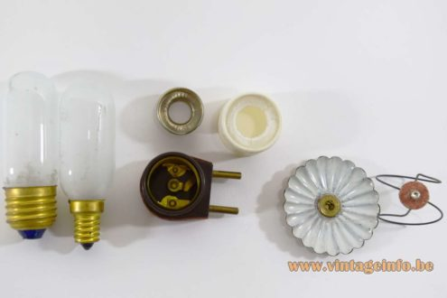 1950s Candlestick Lab Lamp - Parts off the small lamp E27-E14