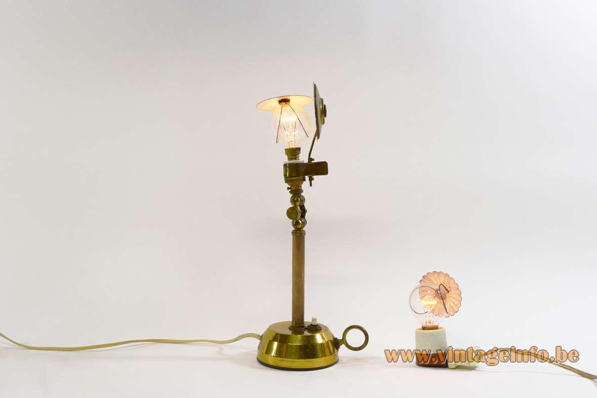 1950s Candlestick Lab Lamp