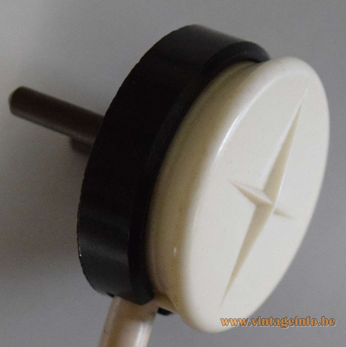 1950s Dimmable Table Lamp - VLM Components 1960s Plug