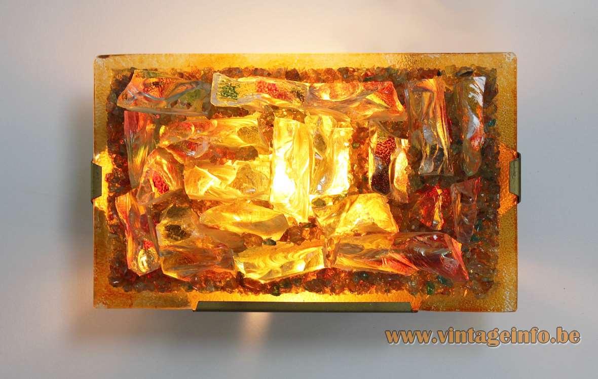 Outstanding Broken Glass Wall Art Embellishment - All About Wallart ...