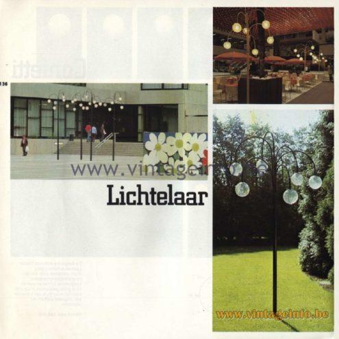 Raak Catalogue 11, 1978, Lichtelaar Outdoor/Garden/Street Lamp