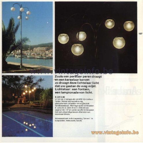 Raak Lichtelaar (light tree) Outdoor/Garden/Street Lamp S-2313.00