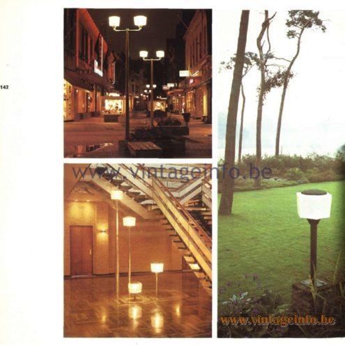 Raak Paalkop (pole head) Outdoor/Garden/Street Lamp S-2383.00, S-2384.00, W-1860.00
